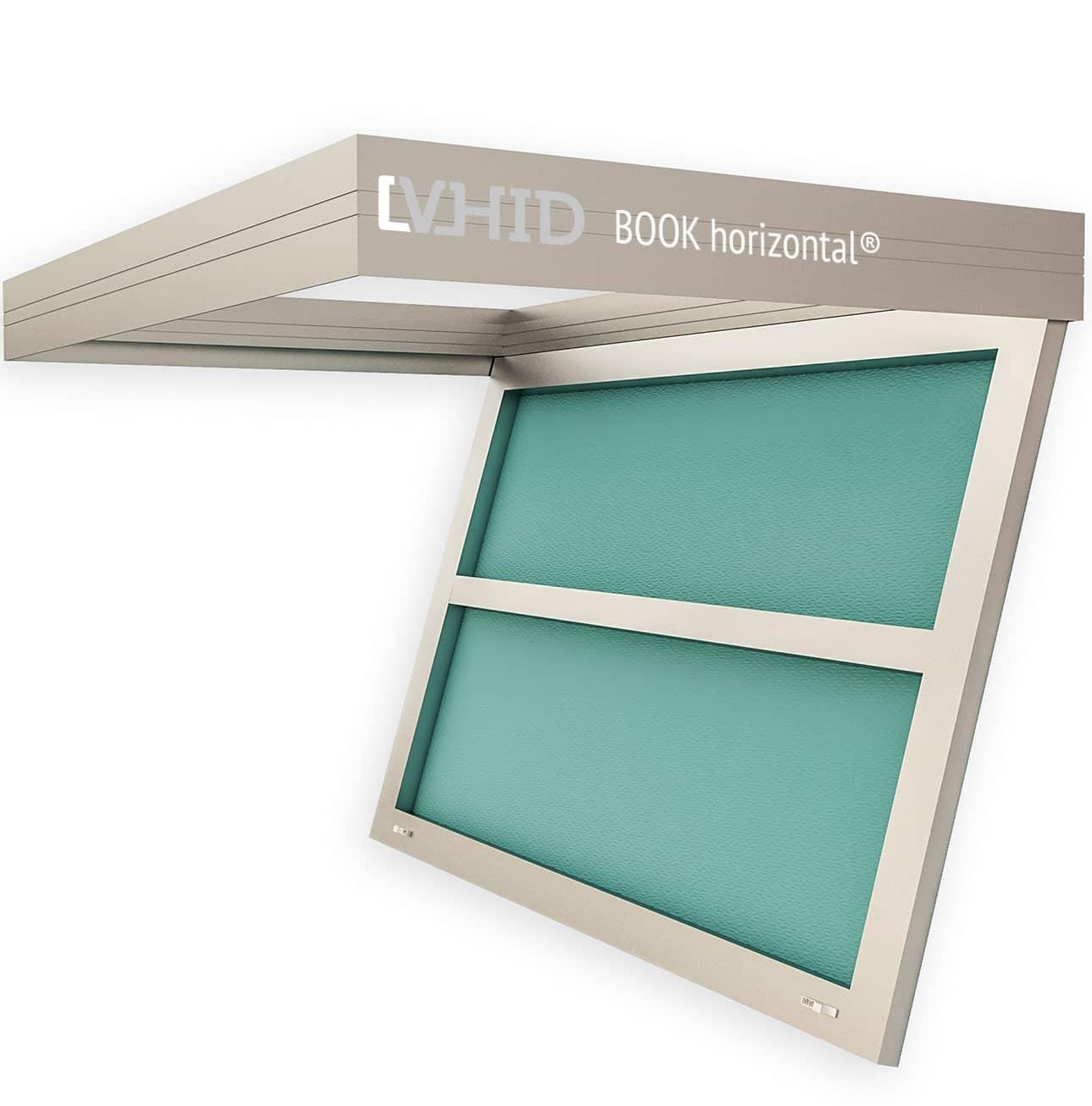 Люк BOOK horizontal