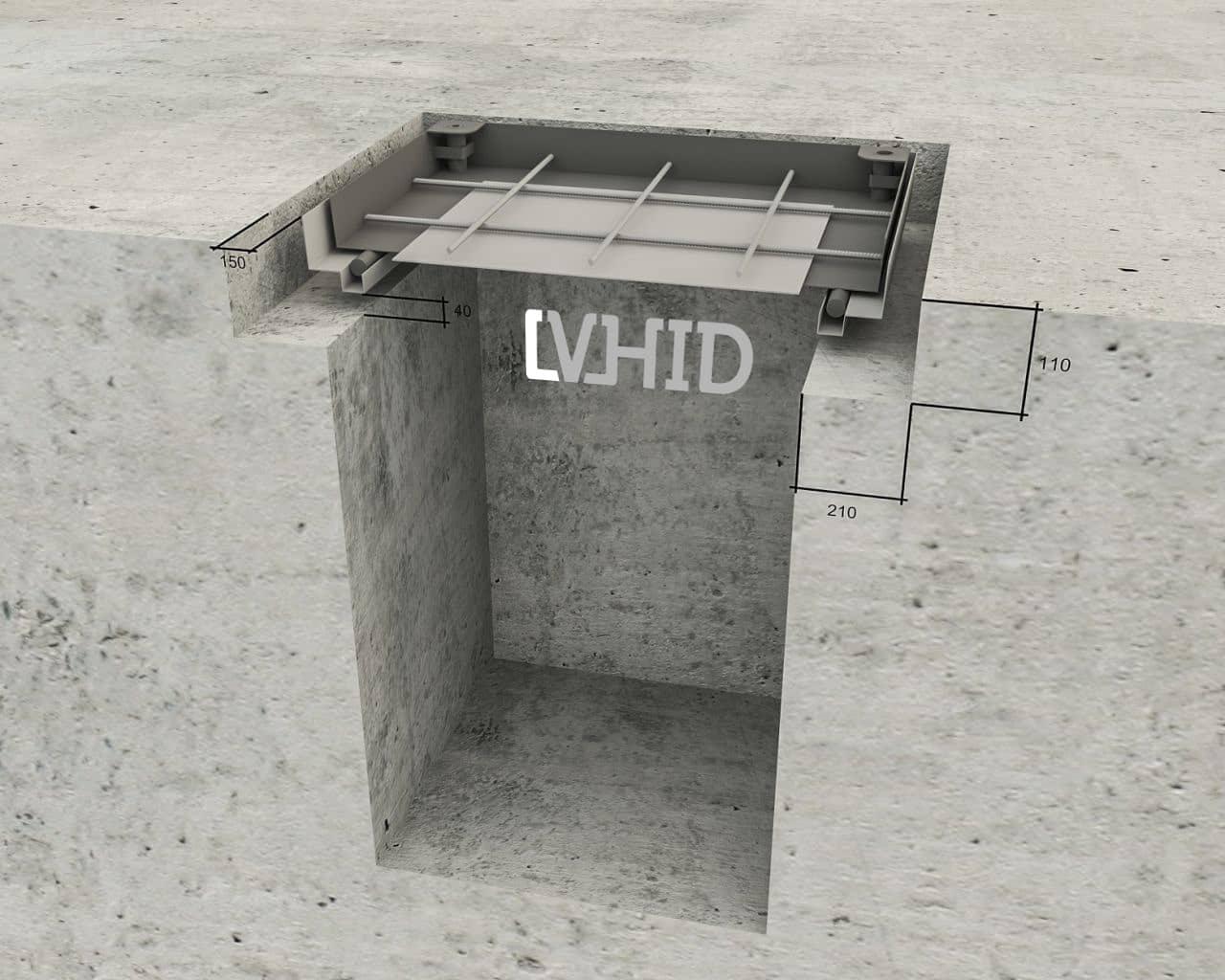 Монтаж люка submarine