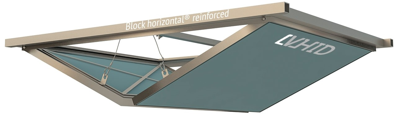 Люк Block horizontal reinforced